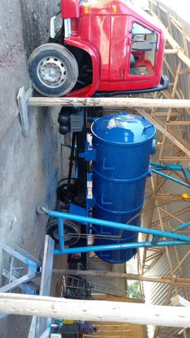 Tanque novos para banheiro químico e limpa fossa bomba de vacuo - Foto 6