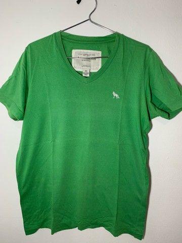 Camisa masculina Acostamento