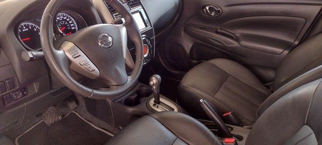 Nissan Versa SL Unique 1.6 FlexStart Preto 2018/2018 - Foto 5