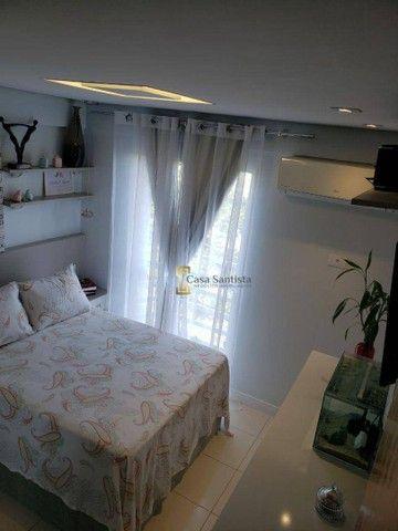 Apartamento com 2 dormitórios à venda, 70 m² por R$ 485.000,00 - Aparecida - Santos/SP - Foto 16