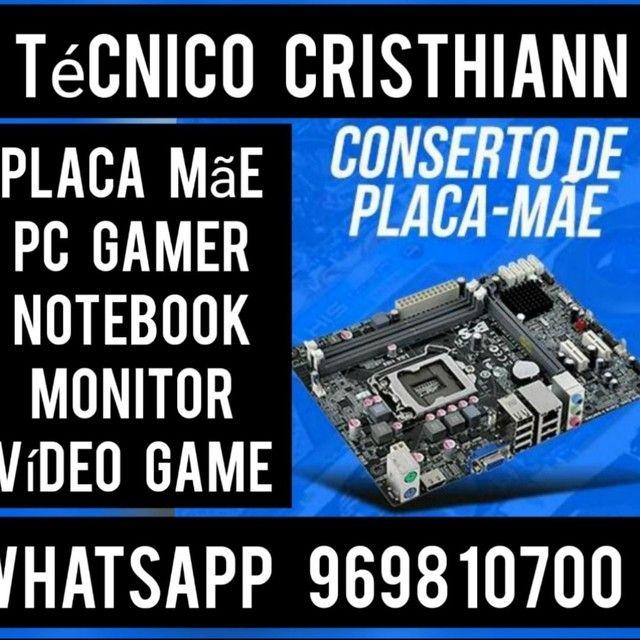 Procuro técnico em eletrônica com conhecimentos em placa mãe e placa de vídeo comissionado