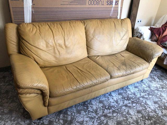 2 Sofás de couro - Foto 4