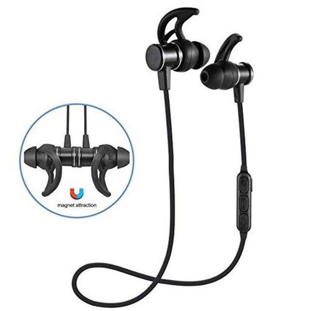 Fone Bluetooth Sports H'maston - Preto - Sls 100 - frete gratis