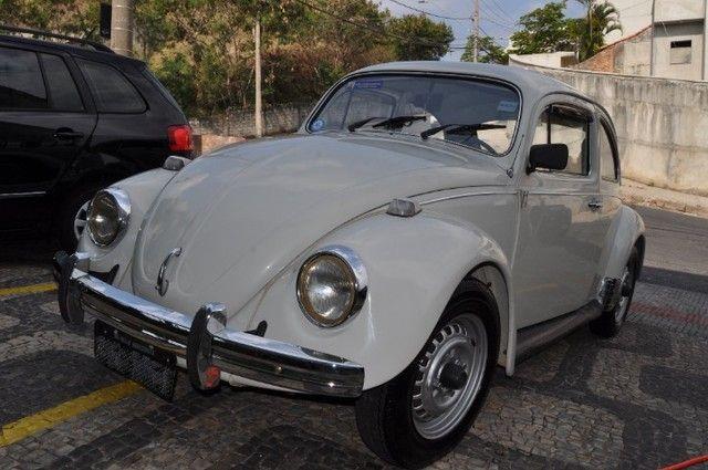 Volkswagen Fusca 79 1.300 Carro de colecionador, placa preta   Nunca foi restaurado. - Foto 2