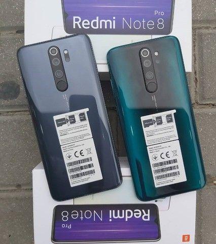 Xiaomi Redmi Note 8 Pro 10X S/Juros 128GB/6Ram/1 Ano de Garantia/MediaTek Helio G90T/64MP - Foto 4