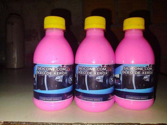 Ganhe dinheiro revendendo nossos produtos silicone rosa com óleo de xerox - Foto 2