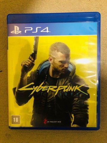 Jogo PS4 cyberpunk