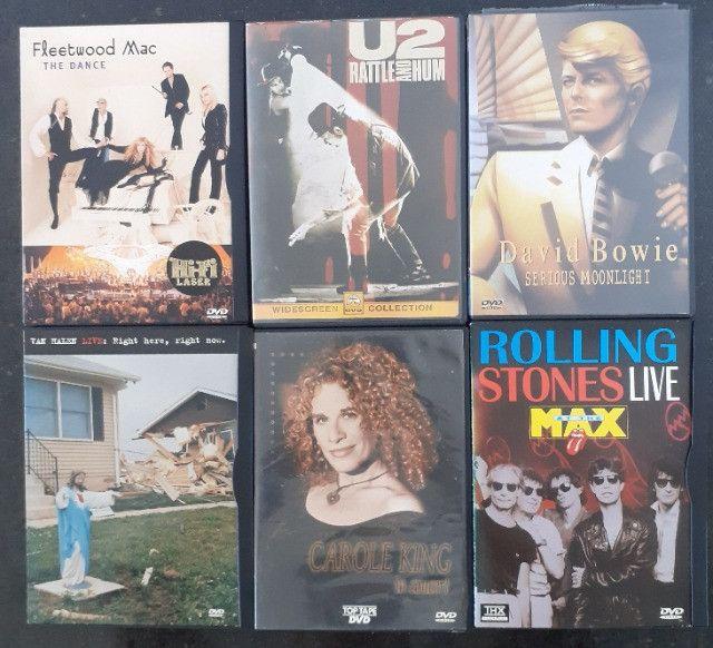 DVD's dos mais variados cantores - Foto 2