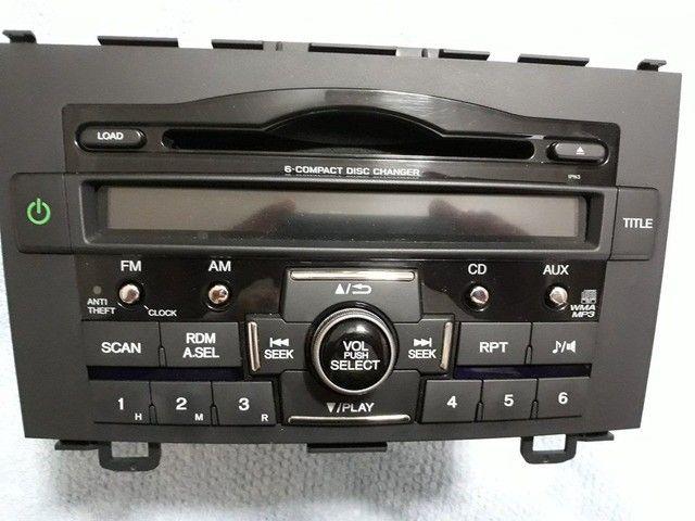 Som Rádio Original Honda CRV 07-11