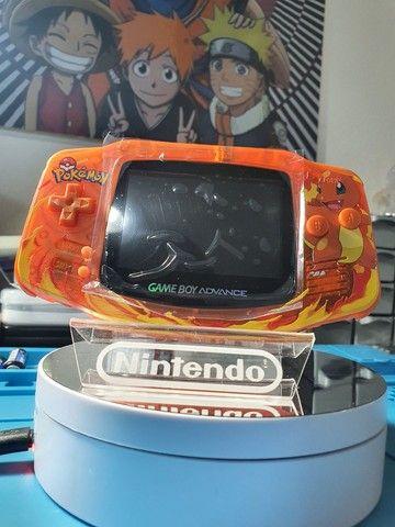 - Game Boy Advance Original Charmander Flamethrower Ips  - Foto 3