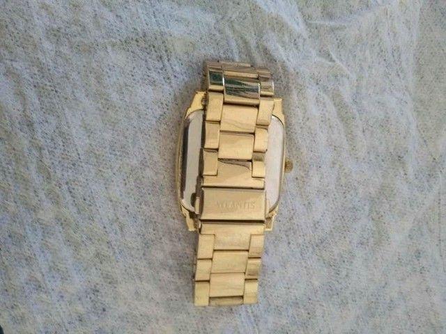 Vendo ou troco Relógio Atlantis  - Foto 3