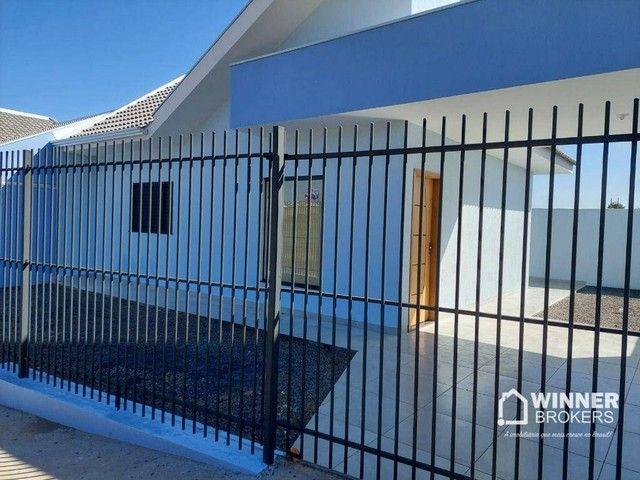 Casa com 2 dormitórios à venda, 67 m² por R$ 190.000 - Jardim Santa Rosa - Mandaguaçu/PR - Foto 2