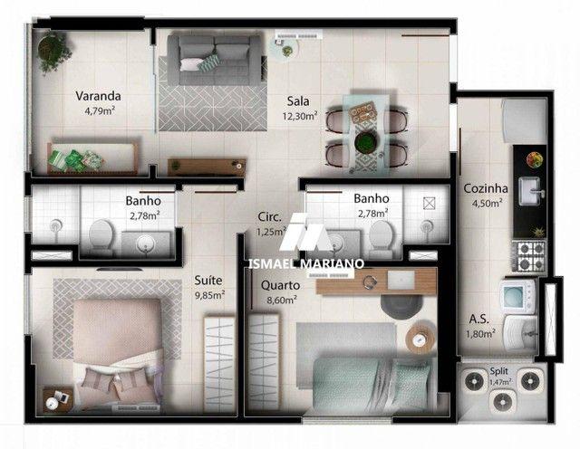 Apartamento à venda, 55 m² por R$ 347.000,00 - Praia de Itaparica - Vila Velha/ES - Foto 20