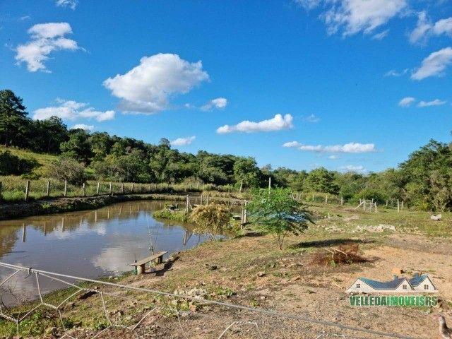 Velleda oferece 1 hectare a 5 minutos centro viamão com açude e casa, troca - Foto 11