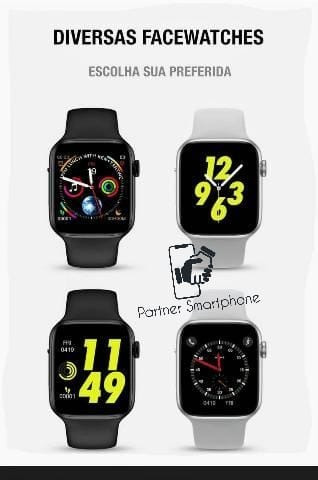 Pronta Entrega Original Relógio Smartwatch Iwo 8 Lite 44mm Fit Bluetooth Ios Android