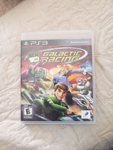 Ben 10 Galactic Racing PS3  Seminovo