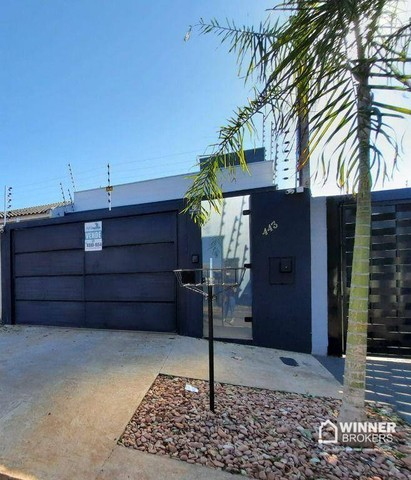 Casa com 2 dormitórios à venda, 85 m² por R$ 295.000,00 - Jardim Paulista - Maringá/PR