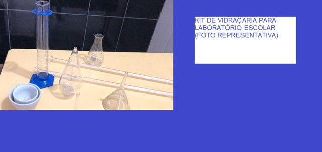 Vidraçaria de Laboratório de Ciências Escolar em Alvorada
