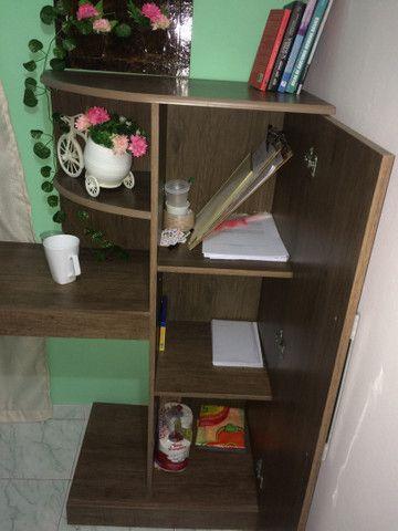 Escrivaninha com armário  - Foto 3