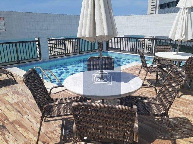 Apartamento com 1 dormitório para alugar, 40 m² por R$ 2.000/mês - Boa Viagem - Recife/PE - Foto 4