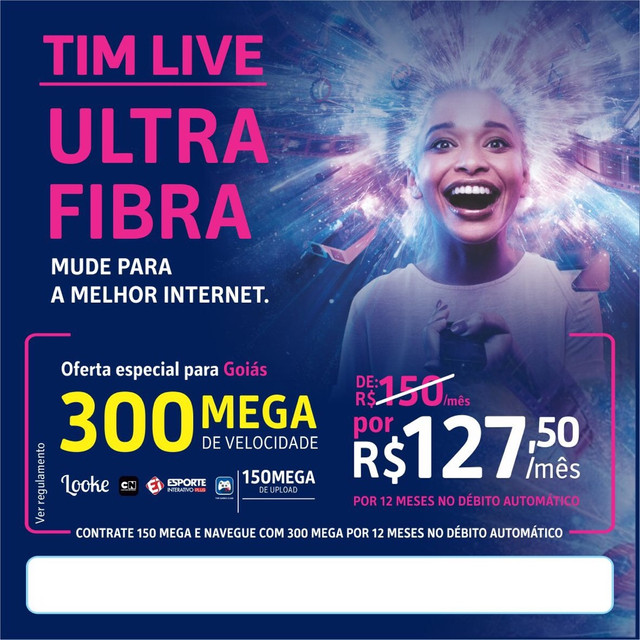 Internet Tim ultra fibra