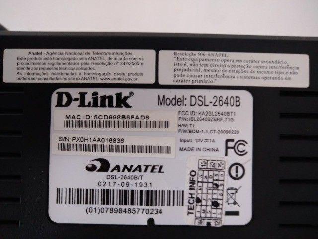 Modem e Roteador D Link - Foto 4