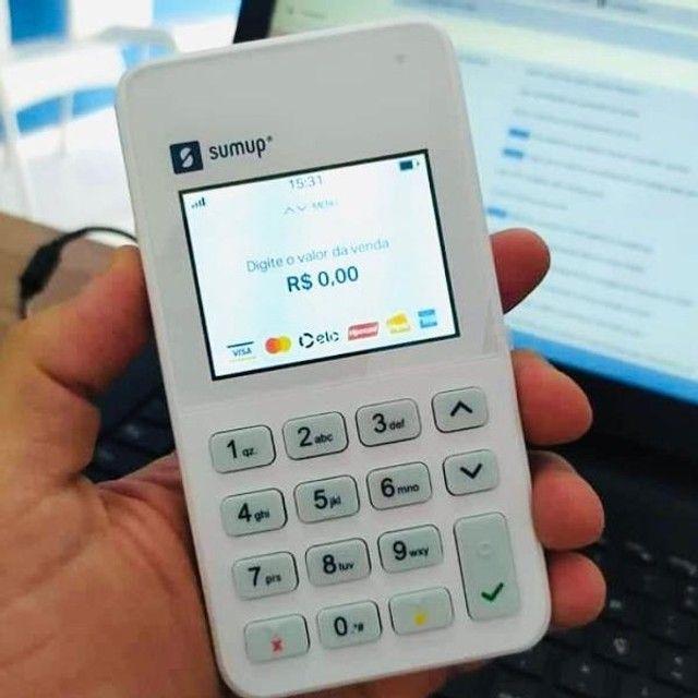 maquininha SumUp On - nao precisa de celular - taxa 1% durante 3 meses - Foto 2