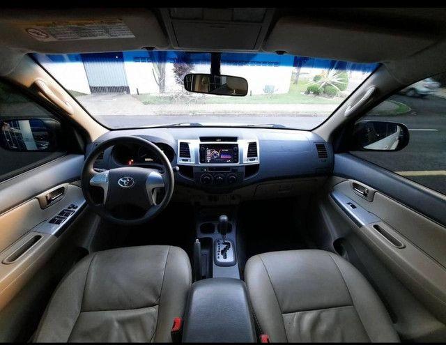 Toyota Hilux SW4 2.7 16V SR Flex Automático 5 lugares 2013 - Foto 5