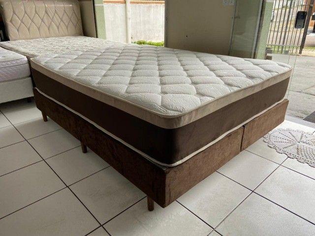 cama box queen size - macia - entrego - Foto 3