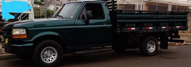 F1000 98 MWM X10 DIESEL com ar condicionado (R$ 65.000,00 avista) - Foto 6