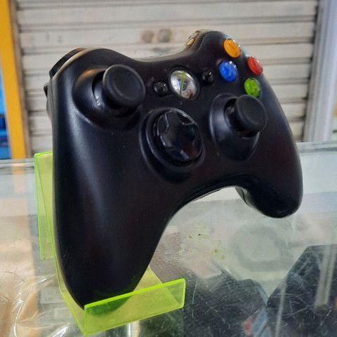 Controle de Xbox 360 seminovo original com garantia - Foto 3