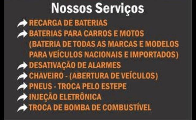 baterias novas e seminovas instalação e entrega gratis , região de santos - Foto 2