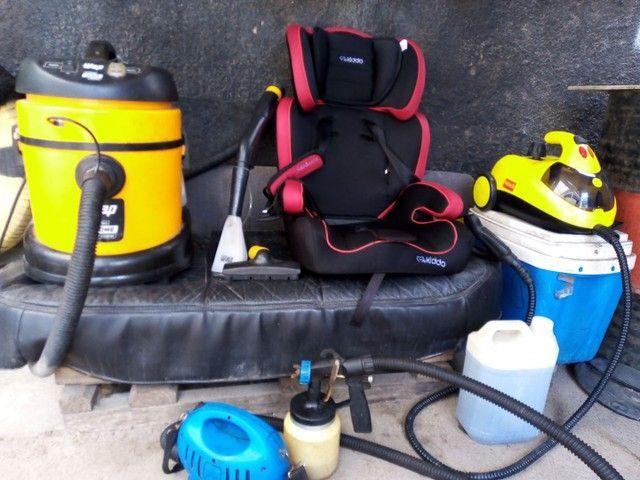 Vendo um lava jato montado completo - Foto 5