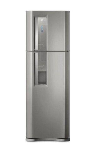 Refrigerador Eletrolux 382 litros inox com dispensor de água ?
