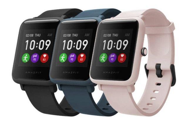 Pronta Entrega Smartwatch Amazfit Bip Relogio Fitness Gps Bluetooth Corrida - Foto 3