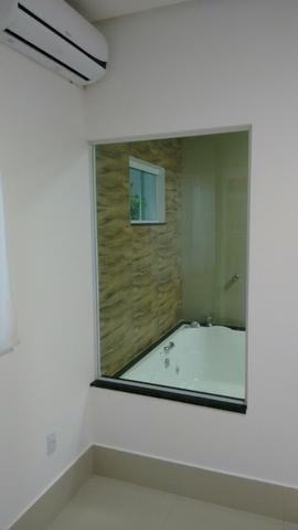 Casa nova 5 quartos rua 06 Vicente Pires alto padrão fino acabamento moderna - Foto 3