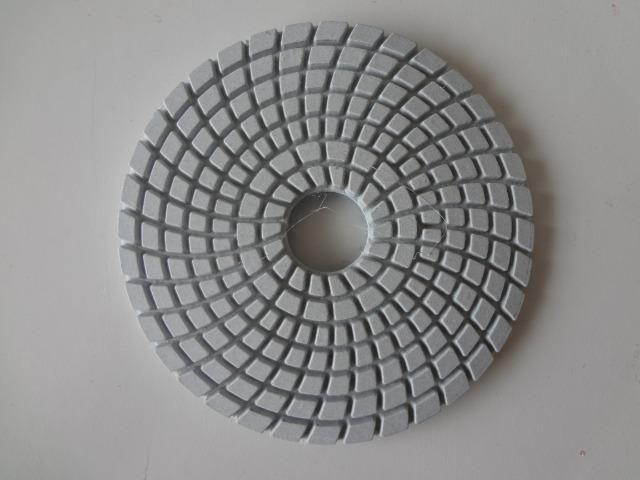 Disco Lixa Diamantado Polimento Granito Mármore Vidro 100mm