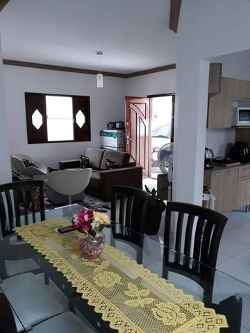 Casa 03 dorm, sendo 02 suite, 02 salas, garagem 04 autos, terreno de 250 mts. (financia) - Foto 2