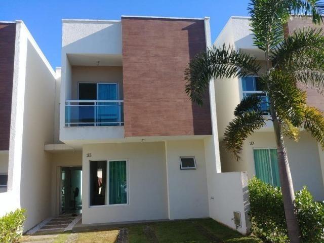 CA1699 Nathus Ville, casa duplex com 3 suítes no Eusébio, 2 vagas, área de lazer completa