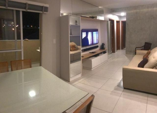 2 Quartos Todo Mobiliado Apartamento Condomínio Montalcino - Foto 5