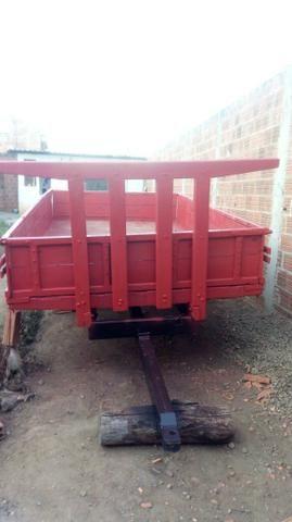 Carreta agrícola pra trator 077- * zap