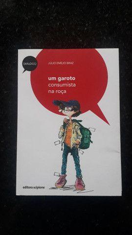 Livro Um Garoto Consumista na Roça - Júlio Emílio Braz