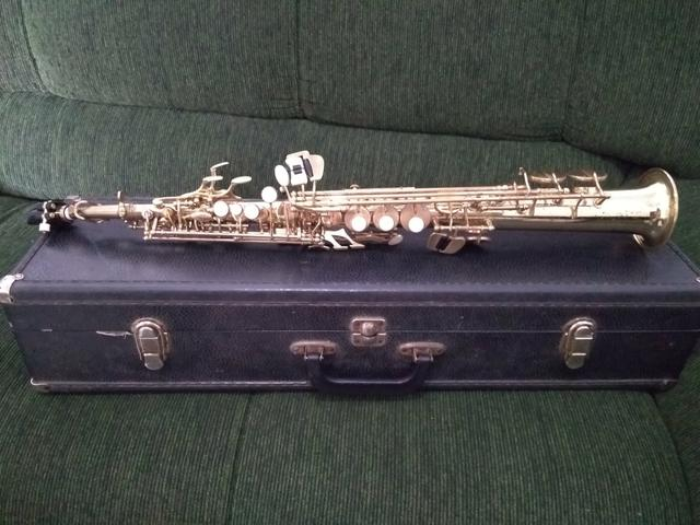 Sax soprano Eagle 0311 - Aceito cartão - Foto 2