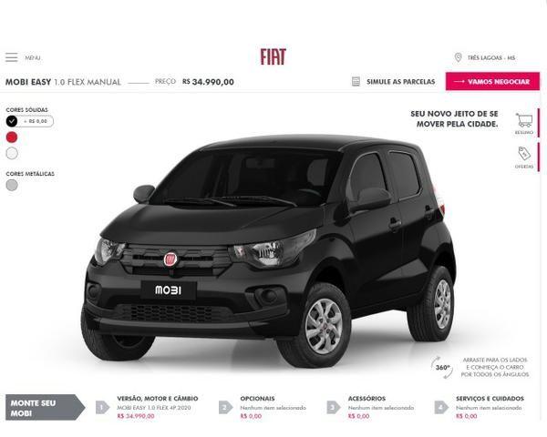 Fiat Mobi Easy Zero km (Desconto R$4.000,00) - Foto 2