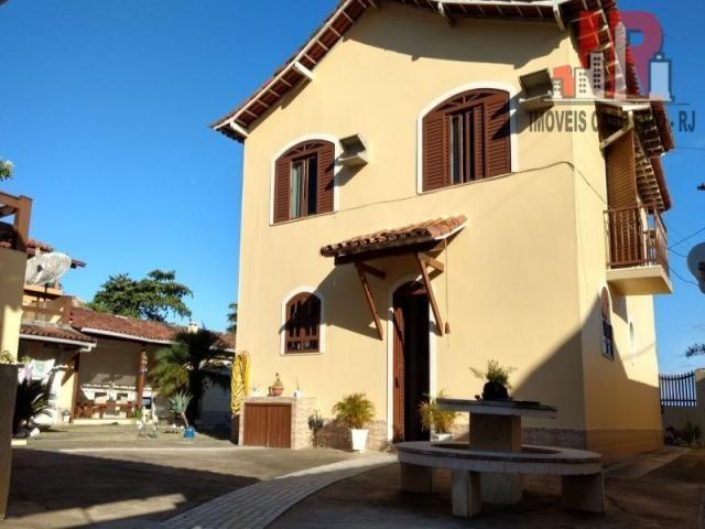 Casa duplex com piscina e Casa de hospede, frente para Lagoa de Araruama Balneário - São P - Foto 9