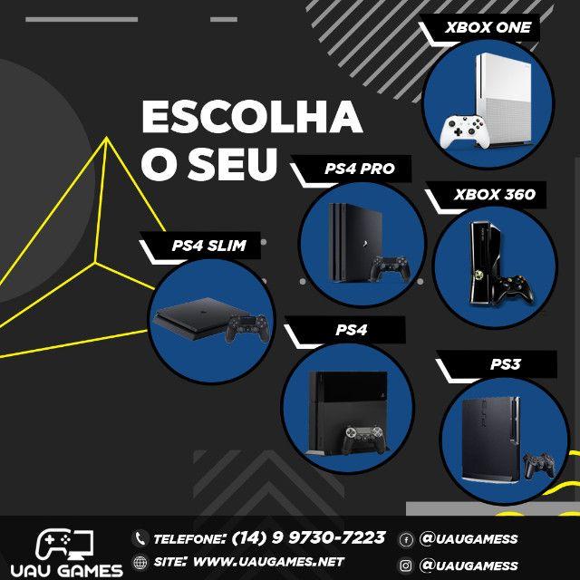 Playstation 3 Edição Cinza - Garantia - Destravado - Foto 6