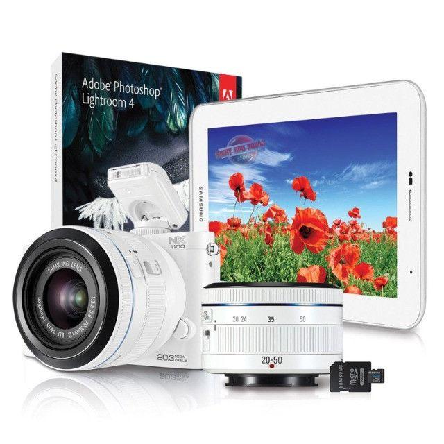 Câmera Digital Samsung Smart NX1000 - Mirroless - Foto 5