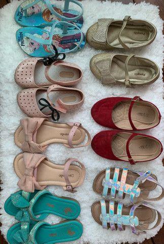 Lotinho de sapatos infatil