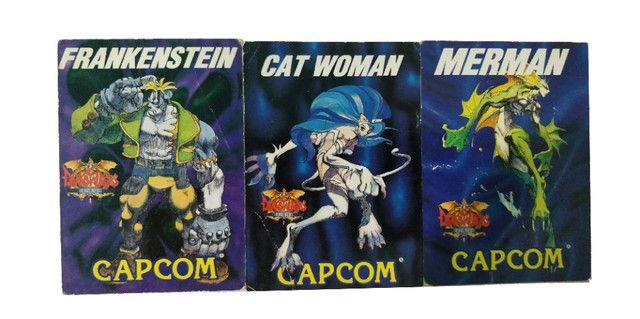 Coleção de Cartão Darkstalker Capcom Arcade Antigo - Foto 3