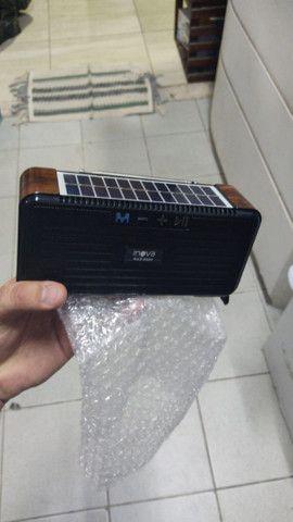 Radio solar sustentável FM Bluetooth,cartão De Memoria,pendrive - Foto 5